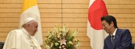 O Papa às autoridades do Japão: Casa Comum delicada como a flor da cerejeira