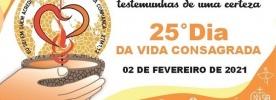 25º Dia da Vida Consagrada é celebrado em 2021