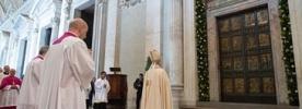 Papa Francisco explica significado da Porta Santa durante catequese