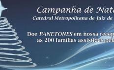 Catedral arrecada panetones para Campanha de Natal