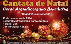 Arquidiocese de Juiz de Fora promove Cantata de Natal