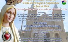 Imagem peregrina de N. Sra. de Fátima chega nesta quarta (8), em Juiz de Fora