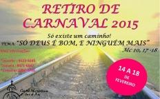 Jovens já podem se inscrever para o próximo Retiro de Carnaval