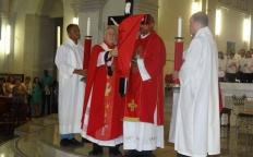 Dom Gil preside Ação Litúrgica na Catedral Metropolitana
