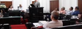 Dom Gil fala sobre o tema da CF 2015, em Tribuna Livre na Câmara Municipal