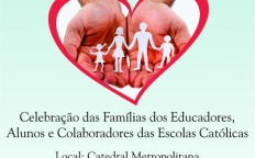 Celebração reúne famílias de educadores, alunos e colaboradores de Escolas Católicas