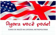 Curso de inglês é iniciado na Catedral