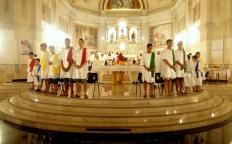 Celebração de Lava-pés reúne fiéis na Catedral