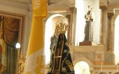 Catedral acolhe a Imagem Peregrina de Nossa Senhora Aparecida