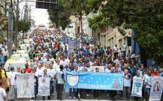 Homens do Terço: mais de mil pessoas participam de 9º Encontro Arquidiocesano