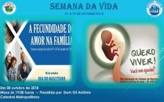 Arquidiocese de Juiz de Fora celebra Semana Nacional da Vida e Dia do Nascituro