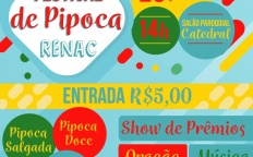 Festival de Pipocas do RenaC é neste final de semana