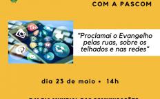 Dia Mundial das Comunicações é celebrado de maneira diferente na Arquidiocese