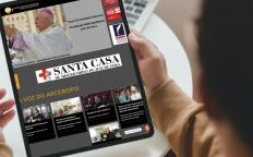 """Novo site da Web TV """"A Voz Católica"""" é lançado"""
