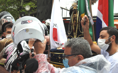 Nossa Senhora Aparecida é celebrada na Catedral com homenagem dos Motociclistas