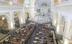 Ressureição de Cristo é celebrada por Dom Gil em Missa na Catedral
