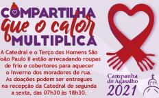 Terço dos Homens São João Paulo II realiza campanha do agasalho 2021