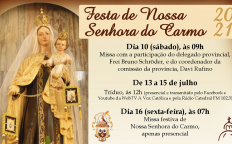 OTC celebra tríduo e dia de Nossa Senhora do Carmo