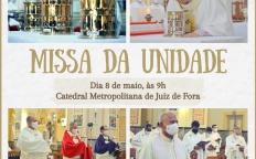 Missa do Santo Crisma será no dia 8 de maio